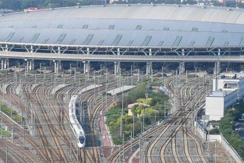 G124次复兴号列车准时抵达北京