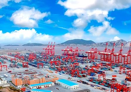 向海而兴砥砺前行 上海国际航运中心建设成果展亮相申城