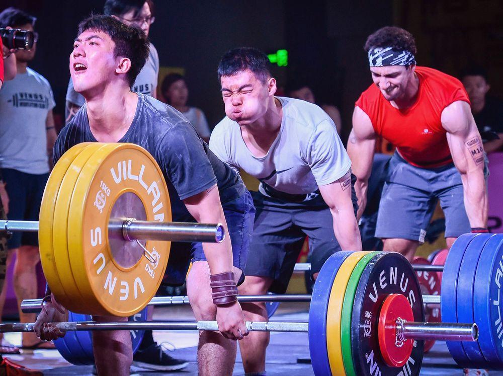 举重体能挑战赛在沪开幕