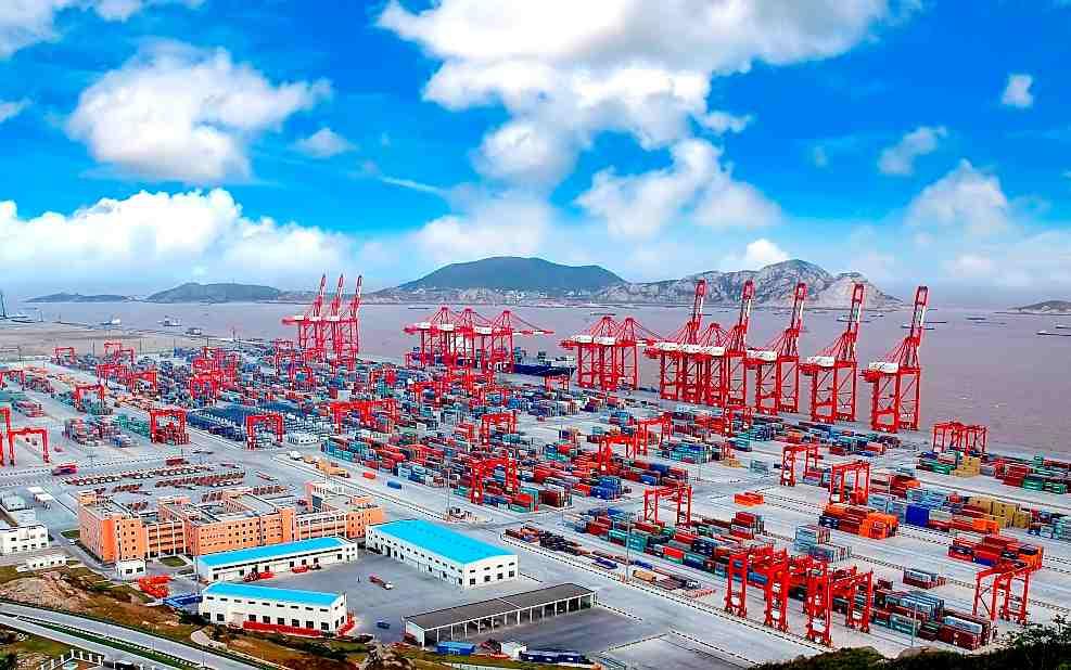 内河走向海洋 上海国际航运中心建设历程