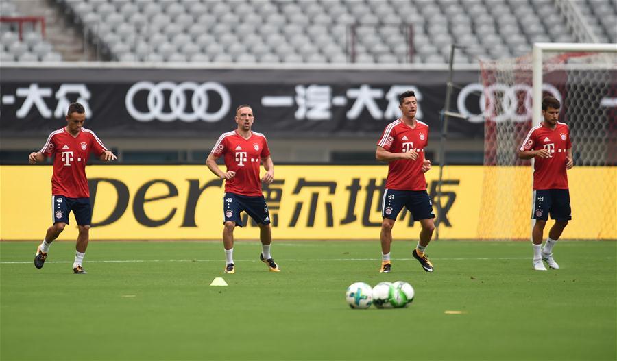 国际冠军杯:拜仁慕尼黑备战