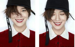 王珞丹登杂志封面 双面女郎诠释多面生活