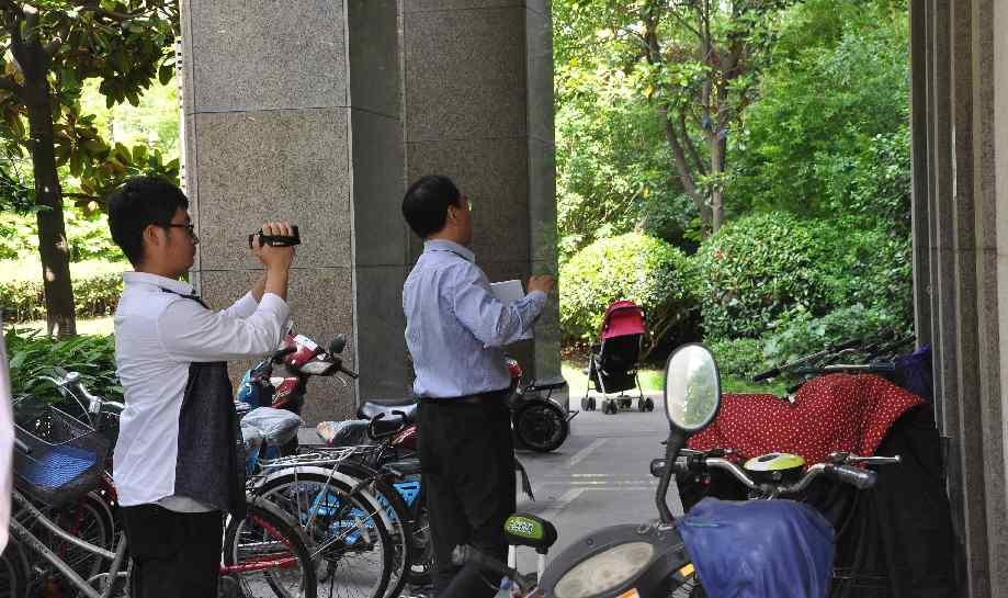 """区政协委员嘉定新城(马陆镇)活动小组开展 第一次""""啄木鸟行动"""""""