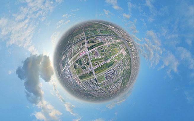 离市中心最近的郊野公园 VR全景看上海浦江郊野公园