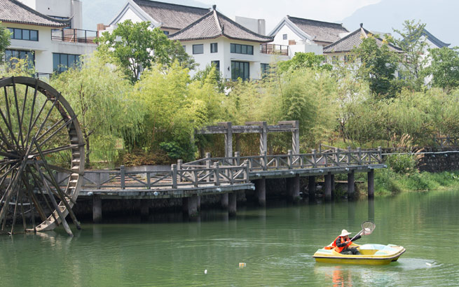 浙江安吉:物业进村 守护绿水青山