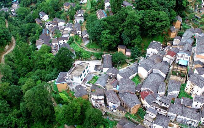 航拍:徽州最后的原生态古村落
