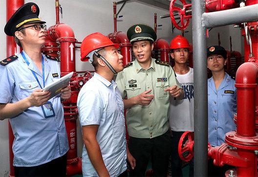 上海消防严查消防产品质量