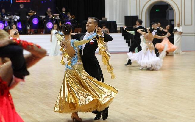 体育舞蹈——2017黑池舞蹈节在上海闭幕