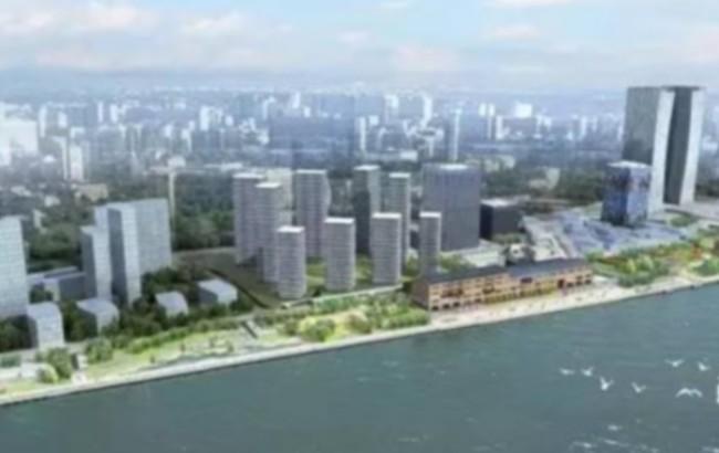 上海船厂滨江绿地9月底三线贯通 效果图美