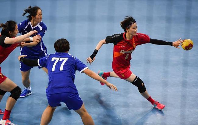 手球——女子:上海胜山东