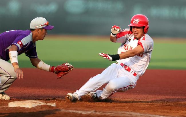 棒球——循环赛:上海胜四川