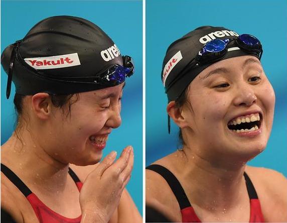 游泳——女子100米仰泳:傅园慧夺冠