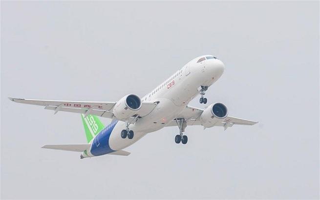 國産大型客機C919新獲130架訂單 計劃投入6架試驗機開展試飛
