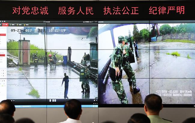 上海边防 立体防控