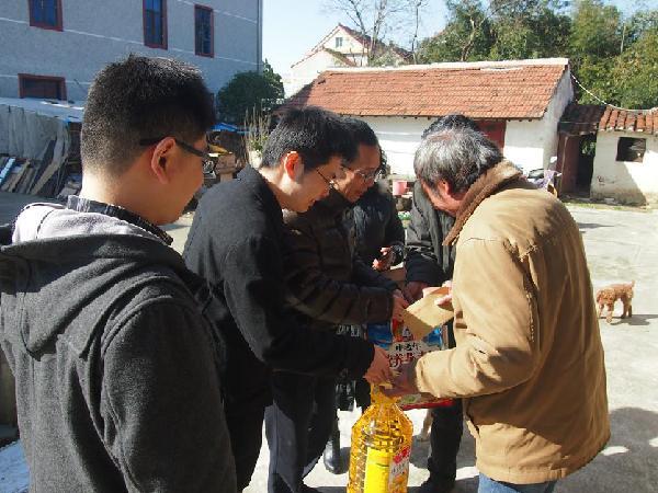 进出口银行上海分行赴崇明区明强村开展党建交流