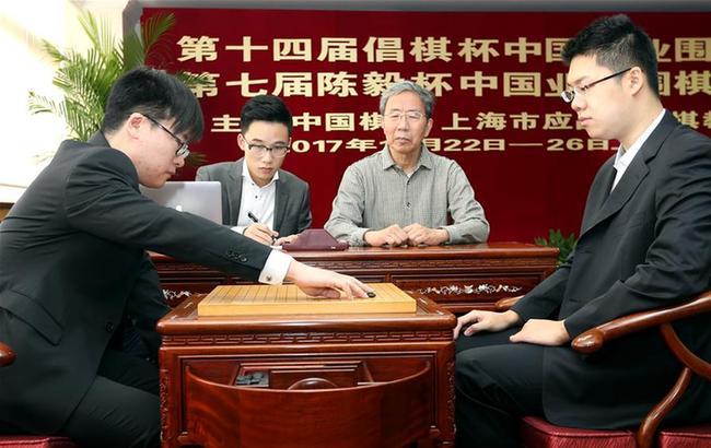 第十四届倡棋杯中国职业围棋锦标赛决赛在沪落子