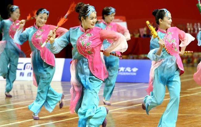 全民健身——上海市第三届广场舞大赛总决赛举行
