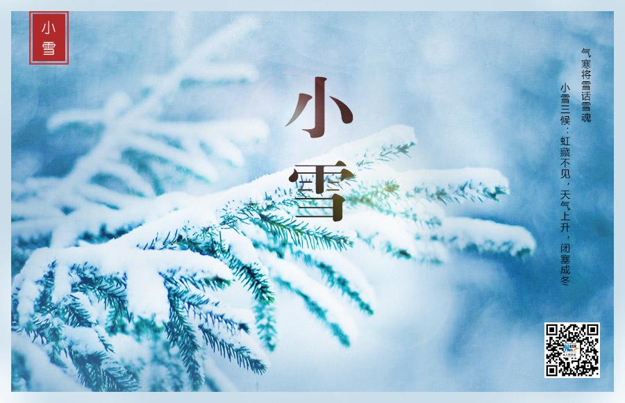 今日小雪丨气寒将雪话雪魂