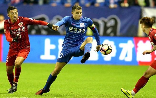 足球——足协杯:上海申花胜上海上港