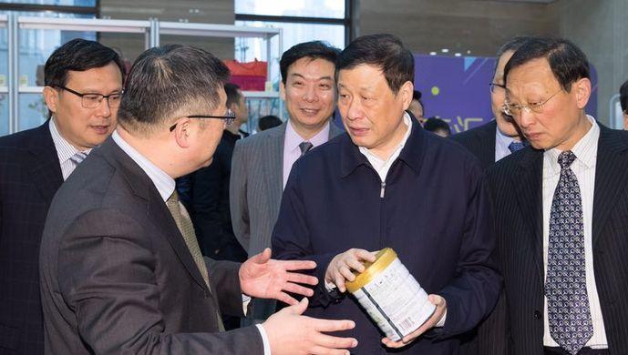 应勇调研东方国际集团:创新打造现代企业集团