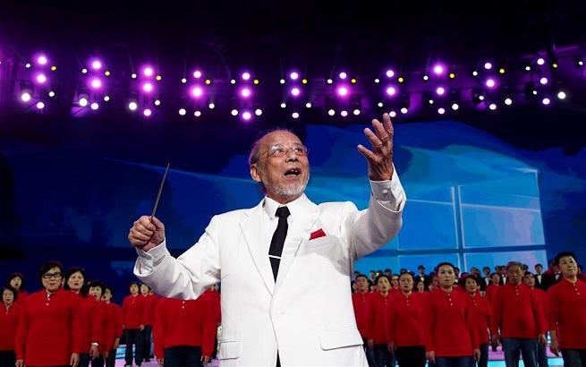 2017年上海市民合唱大赛在沪举行展演