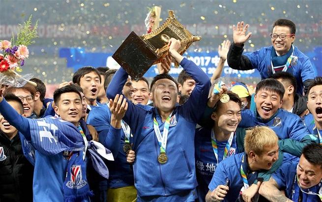 足球——足协杯:上海申花夺冠