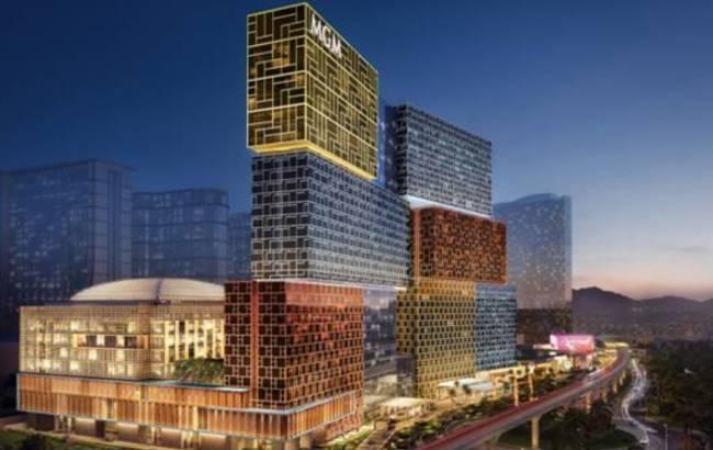 拟于明年元月启幕的美狮美高梅酒店近日来沪推介