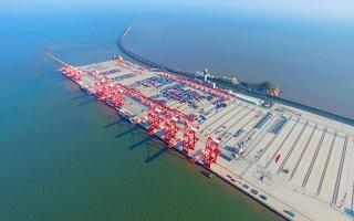 中建港务主承建的洋山四期码头创新纪录