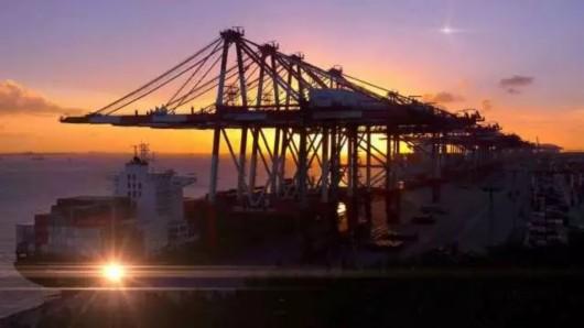 航拍大片里的洋山港!竟然这么壮观这么美!