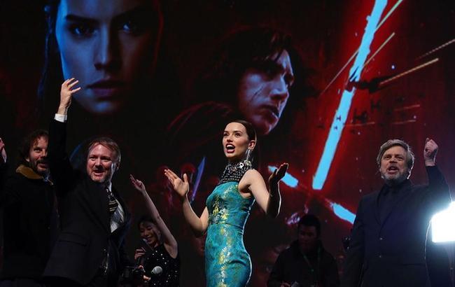 《星球大战:最后的绝地武士》中国首映礼举行