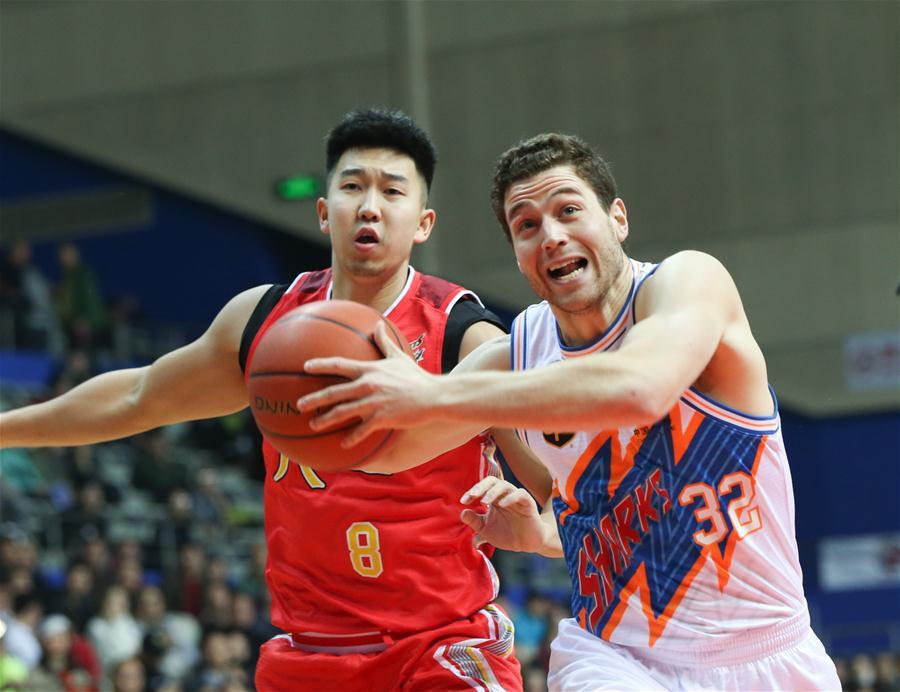 CBA常规赛:上海胜八一