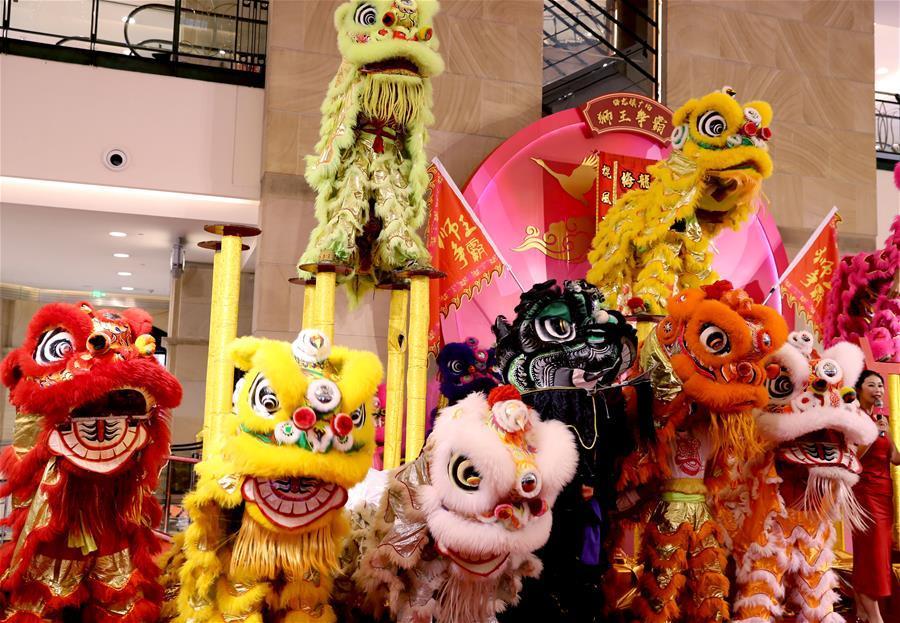 """""""狮王争霸""""为上海春节添年味"""