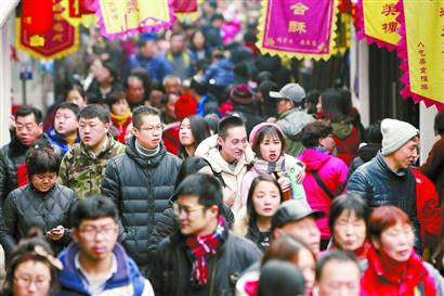 春节上海旅游收入49.41亿元 零售餐饮增长10.4%