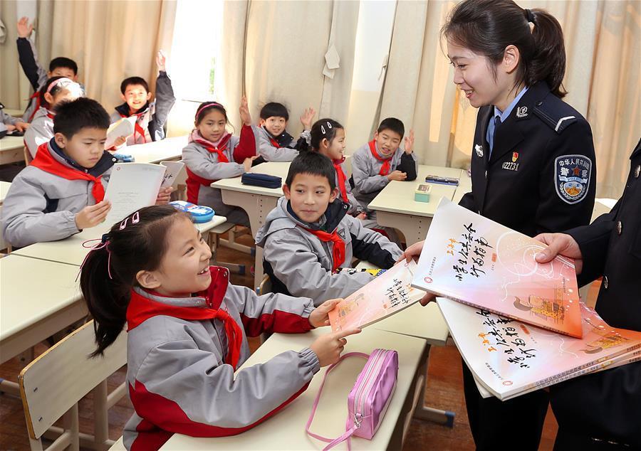 上海:公共安全教育进校园