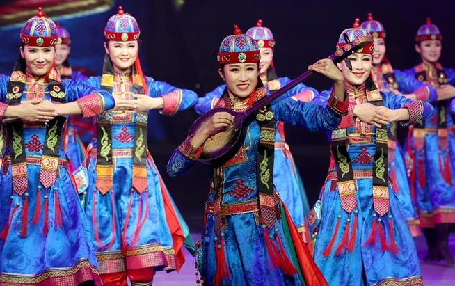 上海兒童藝術劇場上演蒙古族歌舞專場