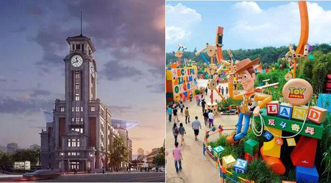 昔日跑马总会大楼月底变身 玩具总动员下月登场上海滩
