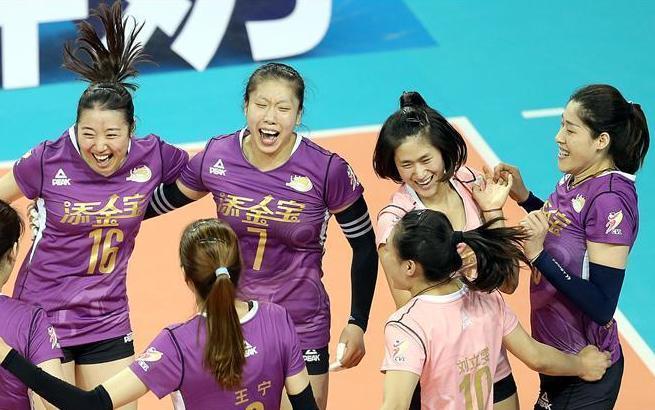 女排联赛决赛第六回合:天津胜上海