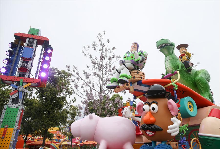 """上海迪士尼""""玩具总动员""""主题园区将开放"""