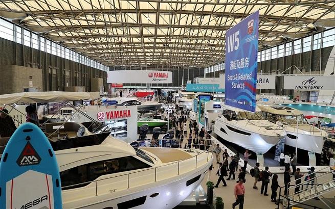 2018上海国际游艇展开幕
