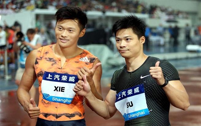 田径——钻石联赛(上海站):苏炳添获男子百米大战亚军