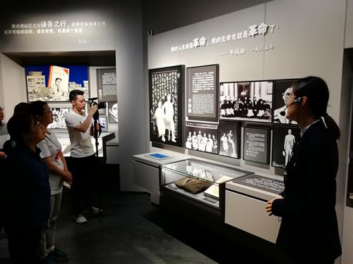 澳门永利网上娱乐解放69周年 龙华烈士纪念馆致敬先烈