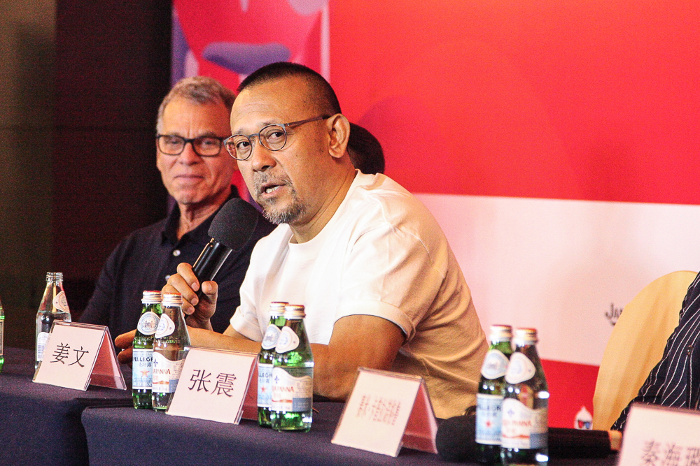 第21届上海国际电影节金爵奖评委见面会在沪举办