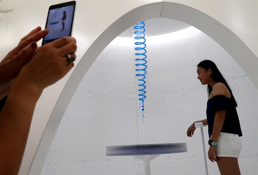 上海举办装置艺术展