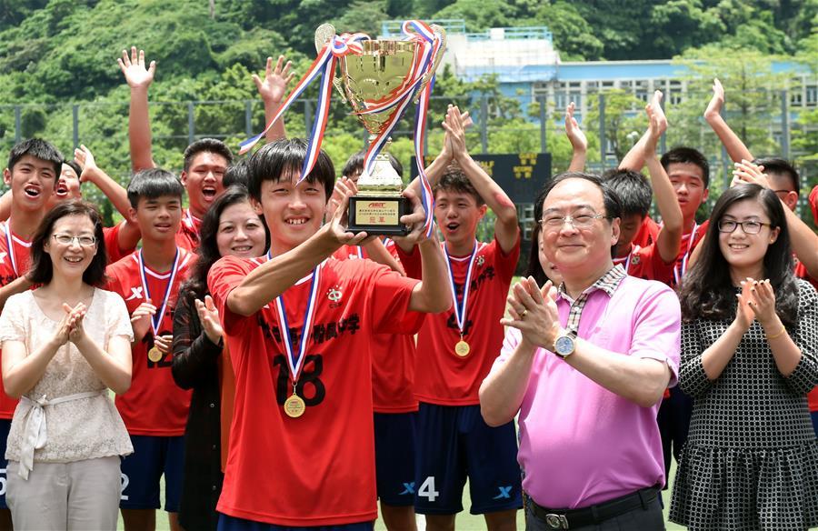 上海同济一附中队夺得庆祝香港回归21周年青少年邀请赛冠军