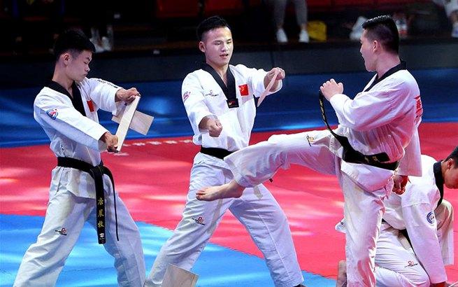 跆拳道——第一届上海国际邀请赛在沪开幕