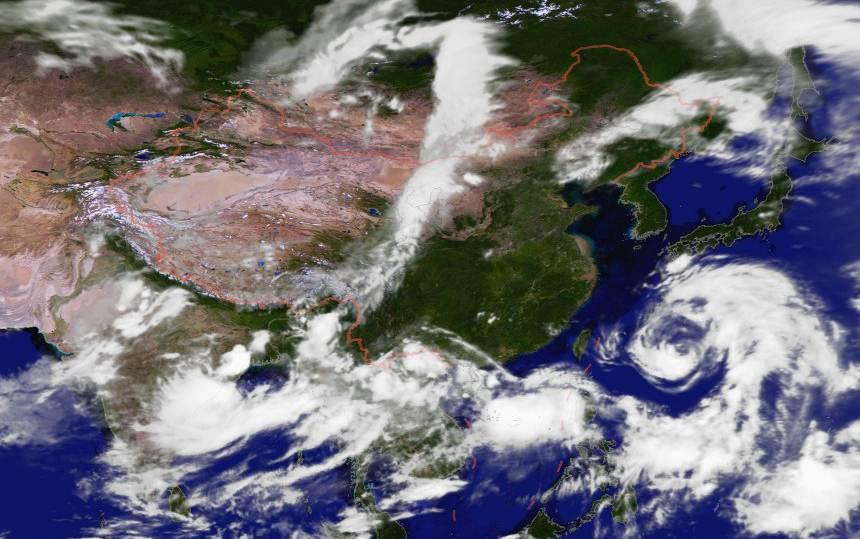 """台风""""安比""""临近,不排除从申城登陆可能"""