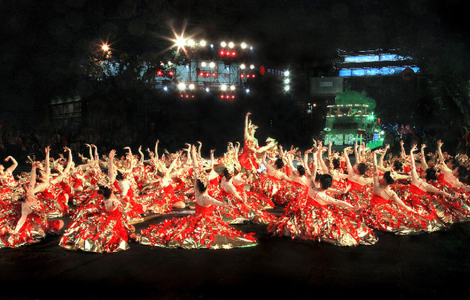 【一起重温那些年的上海旅游节】难忘今宵篇