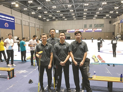 上海青年冰壶男队入选国家预备队