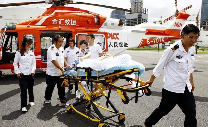 空地联动 搭建长三角空中ICU救援体系