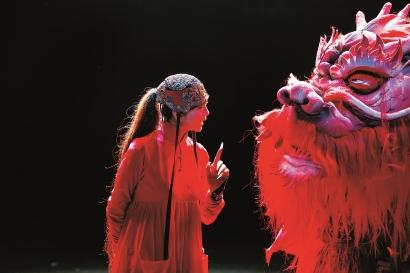 杨丽萍《平潭映象》在上海国际舞蹈中心热演